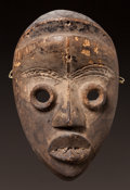 Tribal Art, A DAN ACTOR'S MASK (BAGLE)...