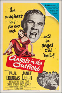 "Angels in the Outfield (MGM, 1951). One Sheet (27"" X 41""). Sports"