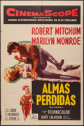 "Movie Posters:Adventure, River of No Return (20th Century Fox, 1954). Spanish Language OneSheet (27"" X 41""). Adventure.. ..."