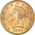 Liberty Eagles, 1883-S $10 MS63 NGC....
