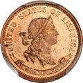 Patterns, 1870 10C Standard Silver Ten Cents, Judd-846, Pollock-945, R.7,PR65 Red PCGS Secure. CAC....
