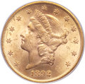Liberty Double Eagles, 1892-S $20 MS63 PCGS....