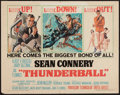 "Movie Posters:James Bond, Thunderball (United Artists, 1965). Half Sheet (22"" X 28""). JamesBond.. ..."