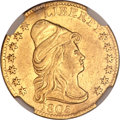 Early Quarter Eagles, 1805 $2 1/2 -- Plugged -- NGC Details. XF. BD-1, R.4....