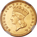 Gold Dollars, 1883 G$1 MS65 NGC....