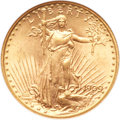 Saint-Gaudens Double Eagles, 1909-D $20 MS63 NGC....