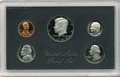 Proof Roosevelt Dimes, 1983 No S Dime in Government-Packaged Proof Set.... (Total: 5coins)