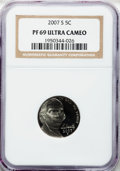 2007-S 5C PR69 Ultra Cameo NGC. NGC Population (3453/141). NGC Census: (0/0). Numismedia Wsl. Price for problem free NGC...