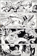 Original Comic Art:Panel Pages, Ross Andru and Don Perlin Marvel Team-Up #15 Ghost RiderPage 26 Original Art (Marvel, 1973)....