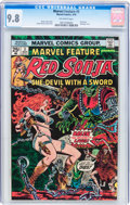 Bronze Age (1970-1979):Adventure, Marvel Feature Red Sonja #3 (Marvel, 1976) CGC NM/MT 9.8 Off-white pages....