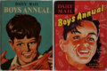 Books:Children's Books, John Bellamy, editor. Daily Mail Boys Annual 1955 and 1957.Associated Newspapers Limited, [no date, circa 1955-... (Total: 2Items)