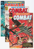 Silver Age (1956-1969):War, Combat File Copies Group (Dell, 1961-73) Condition: Average VF/NM.... (Total: 29 Comic Books)