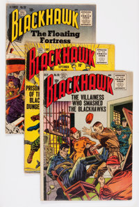 Blackhawk Group (Quality/DC, 1955-61) Condition: Average GD.... (Total: 62 Comic Books)