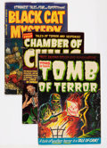 Golden Age (1938-1955):Miscellaneous, Harvey Golden Age Horror Comics Group (Harvey, 1952-54) Condition: Average GD+ except as noted.... (Total: 10 Comic Books)