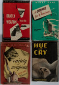 Books:Mystery & Detective Fiction, [Mystery]. Group of Four First Edition, First Printing Books, One Signed and Inscribed. Various publishers, 1943-1951. Dea... (Total: 4 Items)