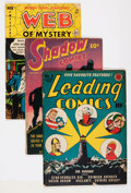 Golden Age (1938-1955):Miscellaneous, Comic Books - Assorted Golden Age Comics Group (Various Publishers, 1942-53) Condition: Average GD-.... (Total: 9 Comic Books)