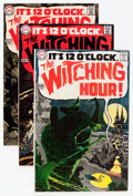 Bronze Age (1970-1979):Horror, The Witching Hour #1-14 and 38 Group (DC, 1969-74) Condition:Average FN/VF.... (Total: 17 Comic Books)