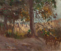 American:Regional, THOMAS LORRAINE HUNT (American, 1882-1938). Mid-Day Light,1911. Oil on panel. 10 x 12 inches (25.4 x 30.5 cm). Signed a...