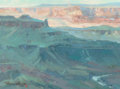 Paintings, JAMES REYNOLDS (American, 1926-2010). The Colorado, 1989. Oil on canvas. 12 x 16 inches (30.5 x 40.6 cm). Signed and dat...