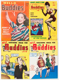 Golden Age (1938-1955):Humor, Hello Buddies File Copy Short Box Group (Fun Parade, 1940s-50s)Condition: Average VF....