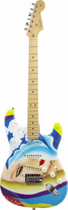 "Musical Instruments:Electric Guitars, Fender 2005 American Stratocaster With Custom ""Layla"" Eric ClaptonFinish. The classic artwork from Derek & The Dominos' lan...(Total: 1 Pieces Item)"