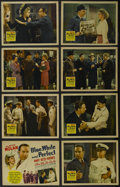 "Blue, White and Perfect (20th Century Fox, 1942). Lobby Card Set of 8 (11"" X 14""). Mystery. Starring Lloyd Nol..."