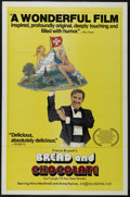 "Movie Posters:Comedy, Bread and Chocolate (World Northal, 1978). One Sheet (27"" X 41""). Comedy/Drama. Starring Paolo Turco, Umberto Raho, Anna Kar..."