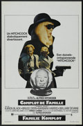 "Movie Posters:Hitchcock, Family Plot (Universal, 1976). Belgian (14"" X 21""). ComedyThriller. Directed by Alfred Hitchcock. Starring Karen Black,Bru..."