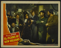 """The Flame of New Orleans (Universal, 1941). Lobby Card (11"""" X 14""""). Romantic Adventure. Starring Marlene Dietr..."""