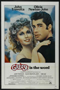 "Movie Posters:Musical, Grease (Paramount, 1978). One Sheet (27"" X 41""). Musical. Directedby Randal Kleiser. Starring John Travolta, Olivia Newton-..."