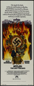 "Movie Posters:War, Hitler: The Last Ten Days (Paramount, 1973). Insert (14"" X 36"").Biographical Drama. Starring Alec Guinness, Simon Ward, Ado..."