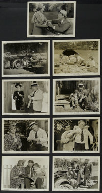 "It's a Gift (Paramount, 1934). Stills (9) (8"" X 10""). Comedy. Starring W.C. Fields, Jean Rouverol, Julian Madi..."