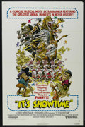 """Movie Posters:Documentary, It's Showtime (United Artists, 1976). One Sheet (27"""" X 41""""). Documentary. Starring Asta, Rin Tin Tin, Trigger, Cheetah and F..."""
