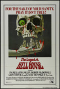 "Movie Posters:Horror, The Legend Of Hell House (Twentieth Century Fox, 1973). One Sheet (27"" X 41""). Horror. Directed by John Hough. Starring Pame..."