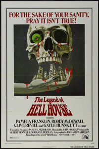 """The Legend Of Hell House (Twentieth Century Fox, 1973). One Sheet (27"""" X 41""""). Horror. Directed by John Hough..."""