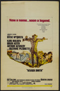 """Movie Posters:Western, Nevada Smith (Paramount, 1966). Window Card (14"""" X 22""""). Western. Directed by Henry Hathaway. Starring Steve McQueen, Karl M..."""