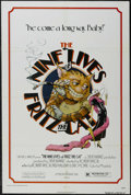 "Movie Posters:Animated, The Nine Lives of Fritz the Cat (AIP, 1974). One Sheet (27"" X 41"").Animated. Starring the voices of Skip Hinnant, Reva Rose..."
