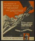 """Movie Posters:Hitchcock, North by Northwest (MGM, 1959). Herald (8"""" X 10.5""""). MysteryAdventure. Directed by Alfred Hitchcock. Starring Cary Grant, E..."""