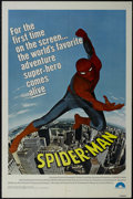 """Movie Posters:Action, Spider-Man (Columbia, 1977). One Sheet (27"""" X 41""""). Action.Starring Nicholas Hammond, David White, Michael Pataki, Hilly Hi..."""