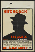 "Movie Posters:Hitchcock, Topaz (Universal, 1969). Belgian (14"" X 21""). Thriller. Directed byAlfred Hitchcock. Starring Frederick Stafford, Dany Robi..."
