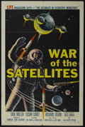 """Movie Posters:Science Fiction, War of the Satellites (Allied Artists, 1958). One Sheet (27"""" X41""""). Science Fiction. Directed by Roger Corman. Starring Sus..."""