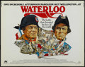 "Movie Posters:War, Waterloo (Paramount, 1970). Half Sheet (22"" X 28""). HistoricalDrama. Starring Rod Steiger, Christopher Plummer, Orson Welle..."