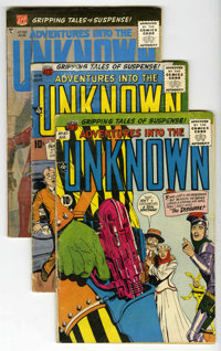 ACG Mixed Group (ACG, 1956-66) Condition: Average VG. Includes Adventures Into the Unknown #76, 87, 88, 104, 110, 147, a...