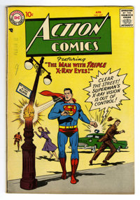 Action Comics #227 (DC, 1957) Condition: FN. Wayne Boring cover. Boring, Howard Sherman, and Jim Mooney art. Overstreet...