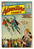 Golden Age (1938-1955):Superhero, Adventure Comics #217 (DC, 1955) Condition: VG+. Curt Swan, Henry Boltinoff, George Papp, and Win Mortimer art. Overstreet 2...