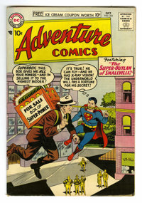 Adventure Comics #241 (DC, 1957) Condition: FN+. Curt Swan, George Papp, and Henry Boltinoff art. Overstreet 2006 FN 6.0...