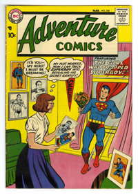 Adventure Comics #246 (DC, 1958) Condition: VF. Curt Swan, Henry Boltinoff, and George Papp art. Overstreet 2006 VF 8.0...