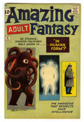 Silver Age (1956-1969):Science Fiction, Amazing Adult Fantasy #11 (Marvel, 1962) Condition: FN. Steve Ditko cover and art. Overstreet 2006 FN 6.0 value = $117....