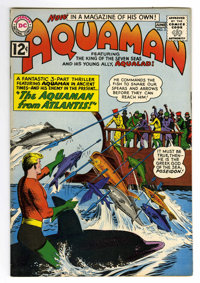 Aquaman #3 (DC, 1962) Condition: VF-. Nick Cardy cover and art. Overstreet 2006 VF 8.0 value = $138