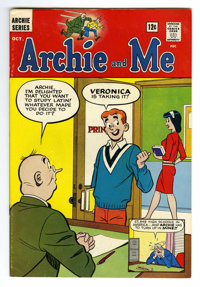 Archie and Me #1 (Archie, 1964) Condition: VF. First issue of the long-running series. Overstreet 2006 VF 8.0 value = $1...